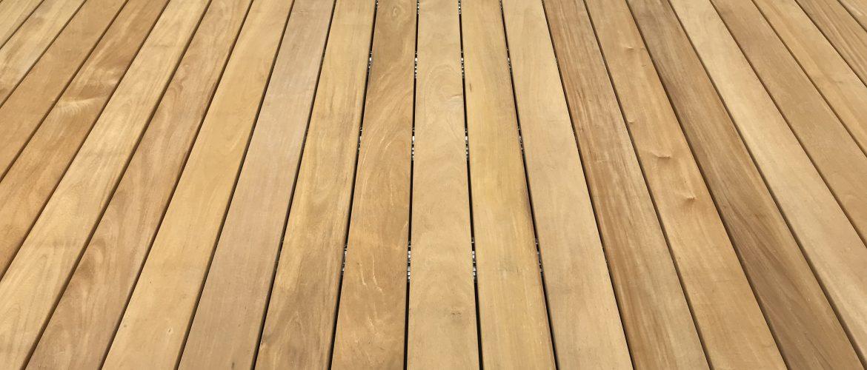 Bevorzugt Garapa-Terrassendielen   glatt, FSC-100%, 145mm BreiteBIOMADERAS GMBH XC71