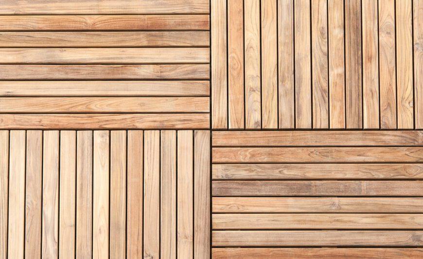 Massaranduba Holzfliesen Klick Fliesen 30x30cm Fsc 100